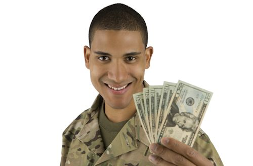 Military and money Sense of Entitlement