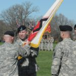 Spinning Flags at Change of Command