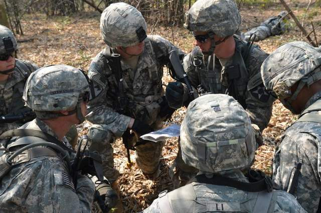soldiers-training for Individual Development Plan