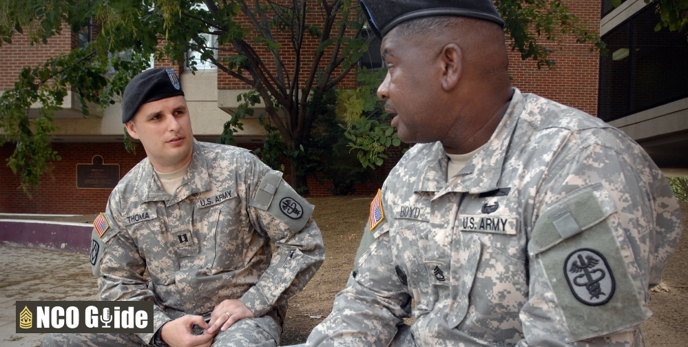 Officer noncommissioned officer relationship