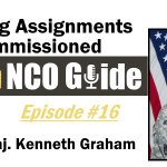 Broadening Assignments for NCOs, Epi. #16