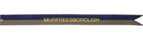murfreesbourgh campaign streamer is wrong