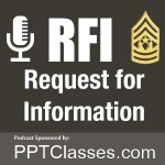 "RFI: Upcoming Podcast, ""Duties of the NCO"""