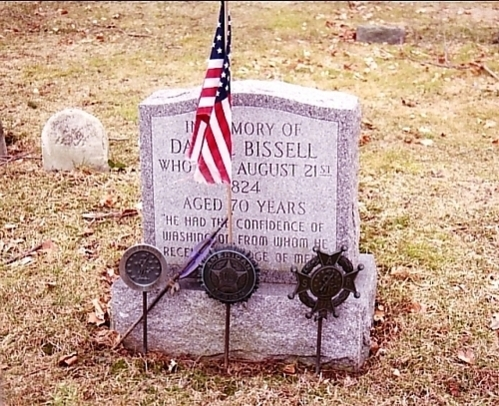 Last recipient of the Badge of Military Merit: SGT Daniel Bissell