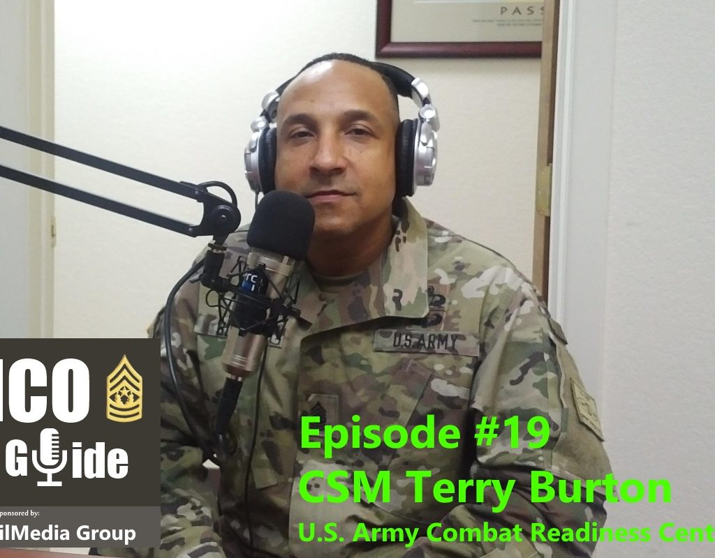 Epi 19, Interview with CSM Terry Burton, USACRC CSM
